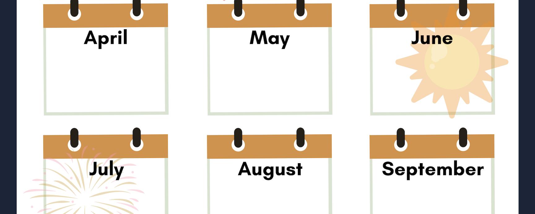 2019 Debt Calendar